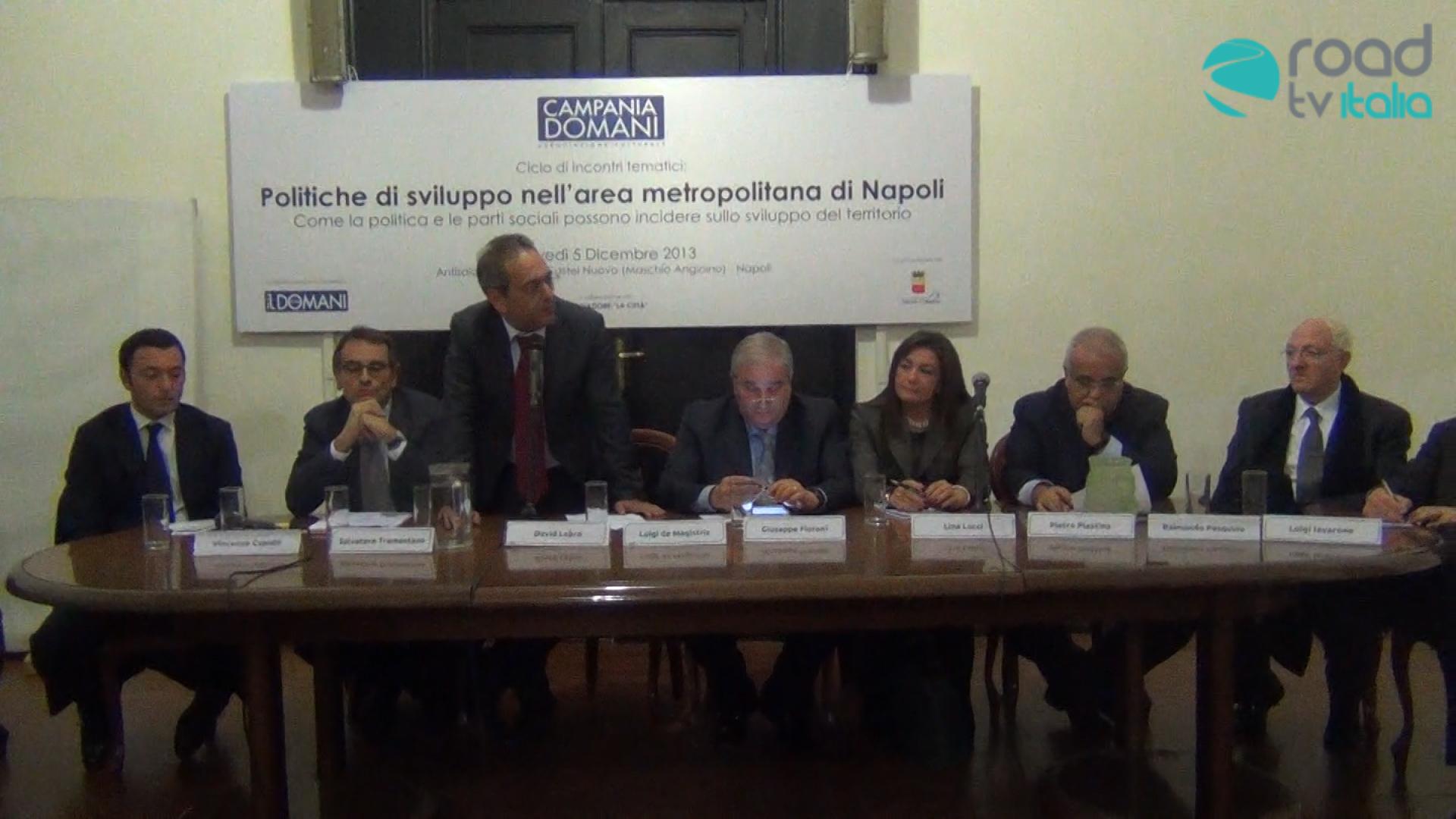 """Ecco come sarà la """"Campania Domani"""". Al via l'associazione politica fondata da David Lebro (VIDEO)"""