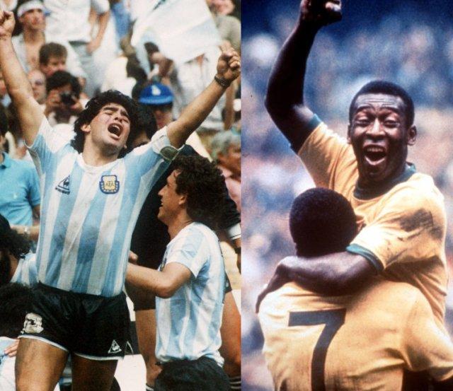 Chi è più forte tra Maradona e Pelè? Rispondono i napoletani amici del Pibe De Oro