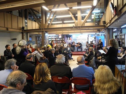 Artisti si mobilitano contro la chiusura della storica libreria Guida. Con 33 ore Urban Work