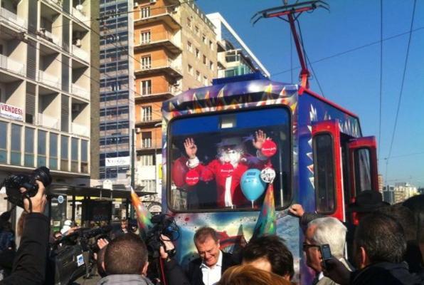 A Napoli arriva il tram dei desideri