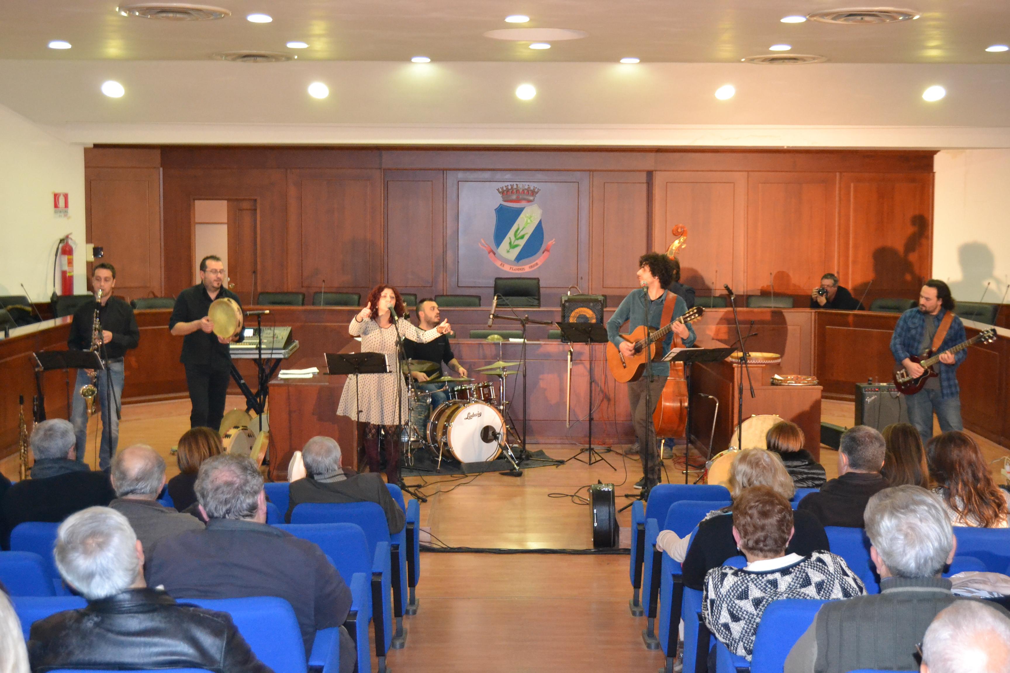 """I """"Canti a dispetto"""" di Antonio Marotta e la sua Band, a San Giuseppe Vesuviano"""
