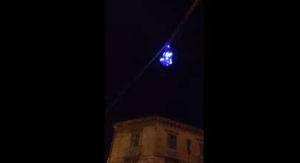 Volo con schianto a Caserta, grave il pompiere che impersonava la Befana (VIDEO)