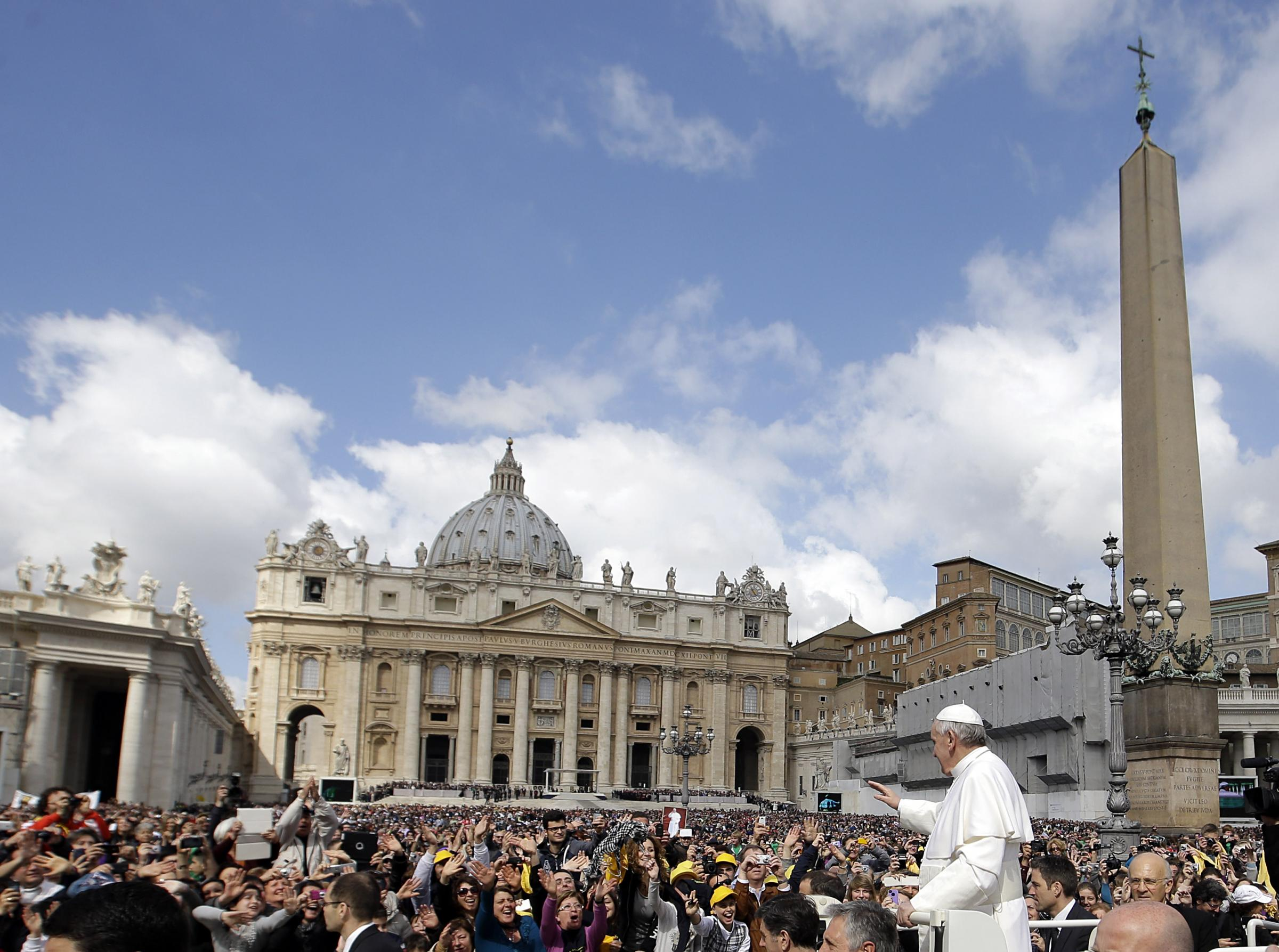 Il Papa e i casertani, un po' di Campania nell'udienza del mercoledì