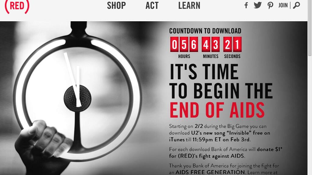 Domenica scarica gratis e unisciti alla lotta contro l'AIDS