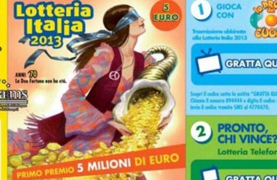Lotteria Italia, venduto a Casoria il biglietto da 2 milioni di euro