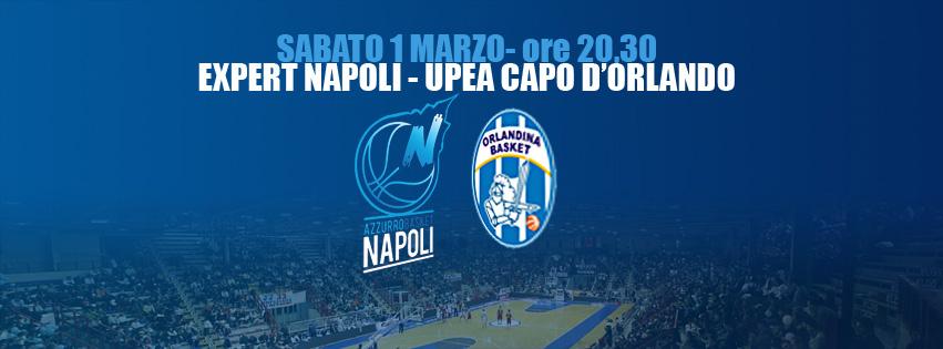 Basket, Napoli - Capo d'Orlando, segui la diretta testuale di Road Tv Italia
