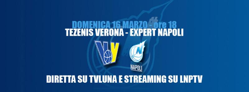 Expert Napoli sconfitta al Palasport di Verona. Play off sempre più lontani