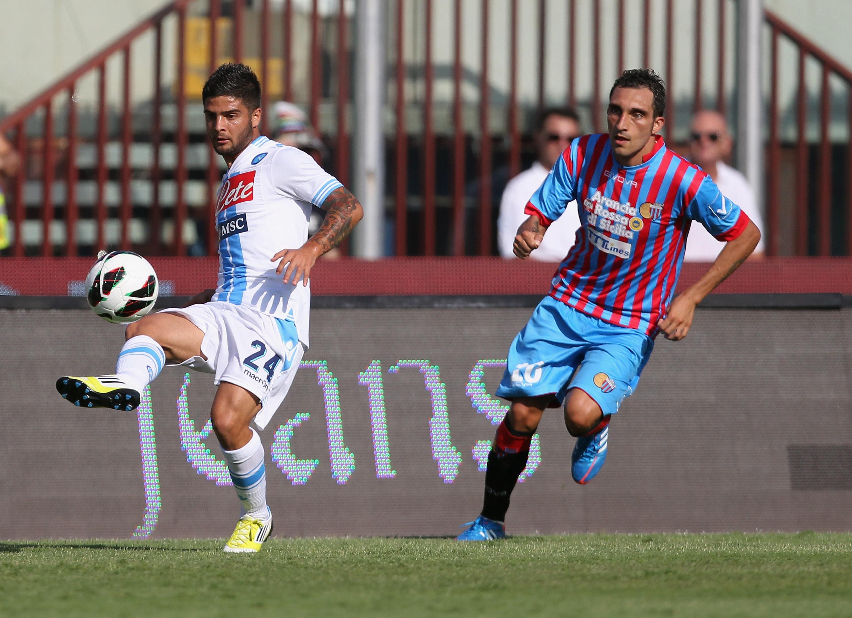 Napoli, a Catania bilancio negativo: nessuna vittoria