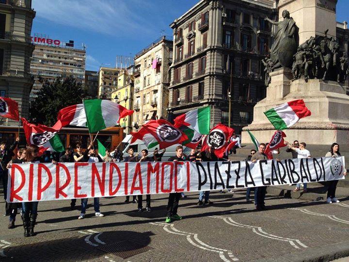 Napoli multietnica contro CasaPound