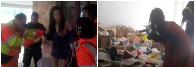 Chiara, segregata in casa per otto anni: arresti domiciliari alla madre carceriera