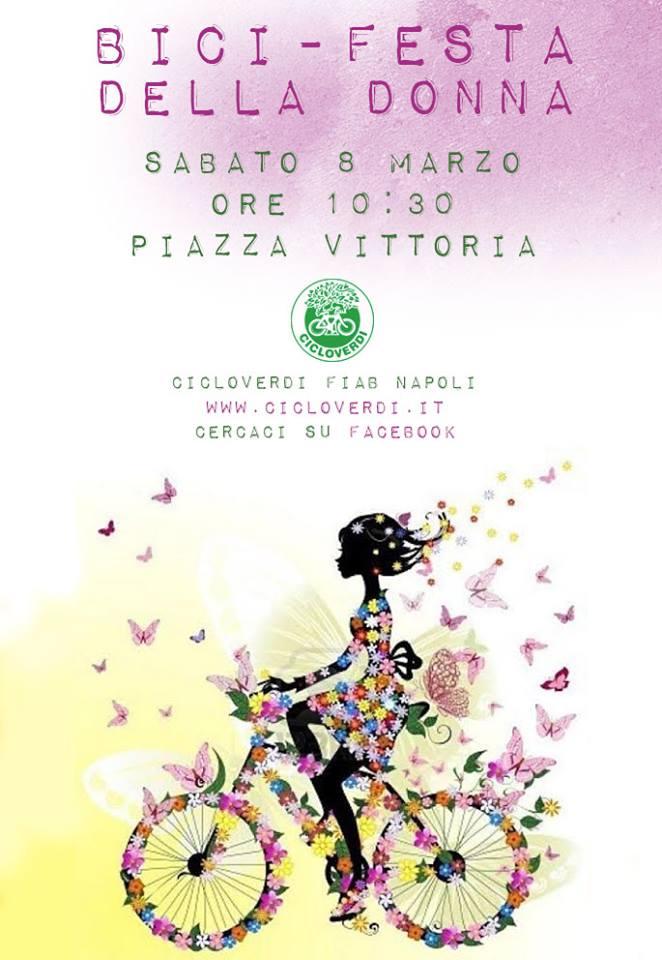 L'otto marzo? Si festeggia in bici. L'iniziativa promossa da Cicloverdi Fiab e rivolta a tutte le ciclo-amatrici