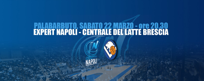 Basket, Napoli-Brescia: segui la diretta testuale