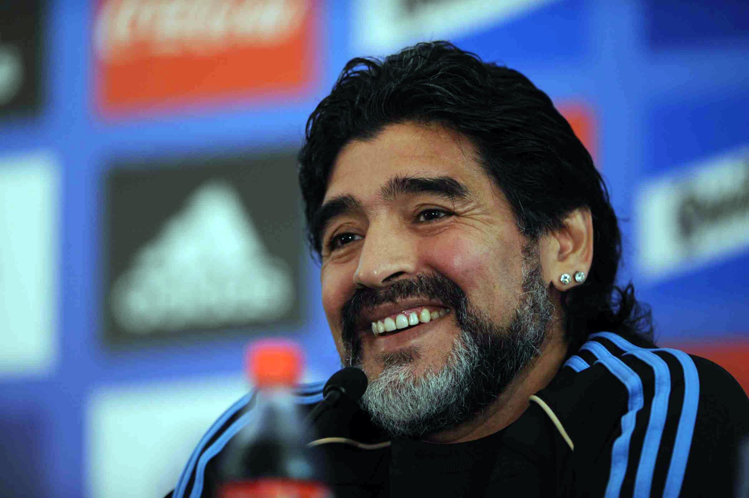 """Maradona:""""Domenica ancora un 3-0 alla Roma"""""""
