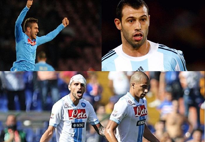 Calciomercato Napoli: Behrami e Inler piacciono al Liverpool. Si avvicina Mascherano. Uvini in prestito al Santos