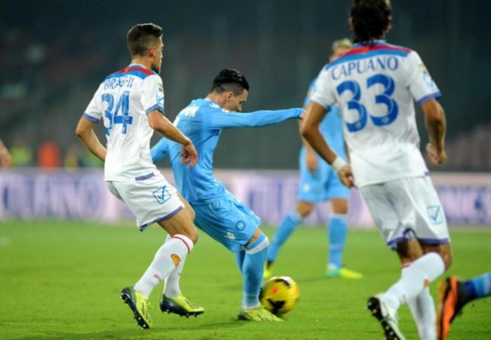Catania-Napoli, formazioni ufficiali: out Albiol e Higuain!
