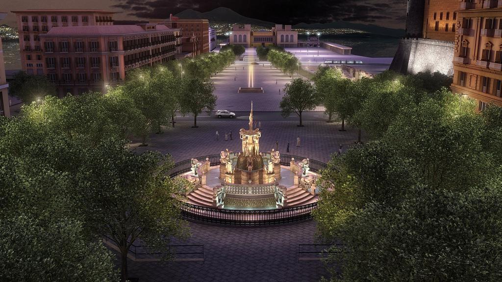 """Fontana del Nettuno, la voce fuori dal coro: """"Bisogna spostarla"""", parola di un architetto"""