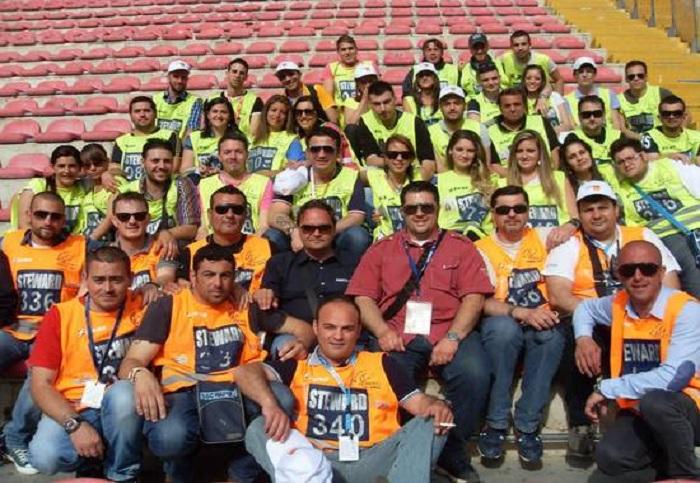 Stadio San Paolo, steward senza paga da un anno