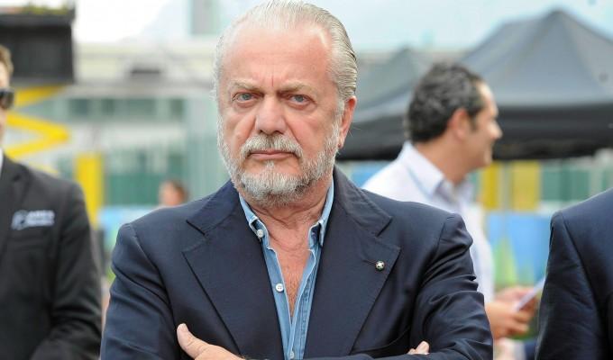 Il tifoso aggredito da De Laurentiis rifiuta le scuse del presidente