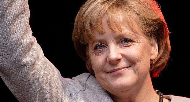 La Merkel in visita a Pompei
