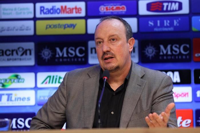 """Napoli-Lazio, Benitez: """"Daremo tutto per i tifosi. Ospiti ancora in corsa per l'Europa"""""""