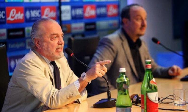 """Auriemma: """"Offerto il rinnovo a Benitez, il tecnico ha risposto così"""""""