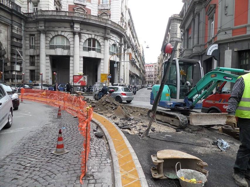 Terminati i lavori in via Arcoleo