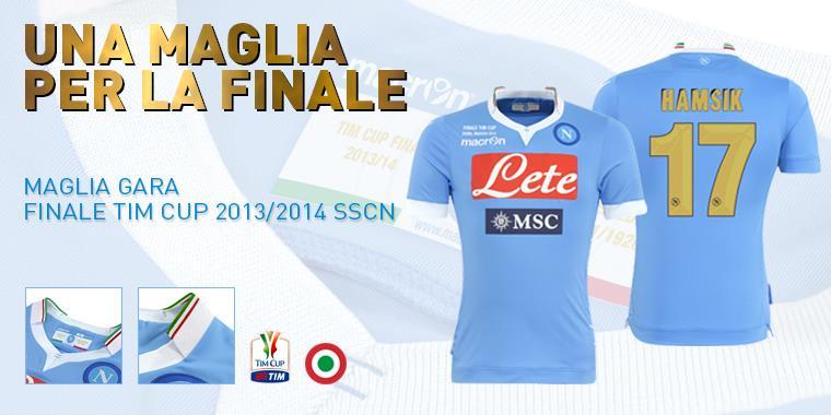 Presentata la nuova maglia del Napoli in edizione limitata