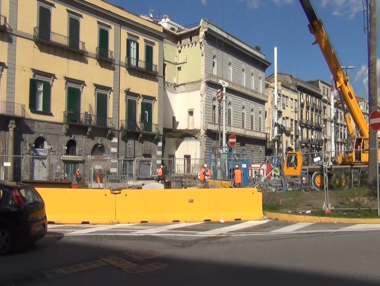 Riviera di Chiaia, il ritorno alla normalità: partono i lavori di messa in sicurezza per riaprire l'area