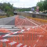 Fuorigrotta bloccata per chiusura sottopasso, anche Hamsik nel traffico in misteriosa compagnia (VIDEO)