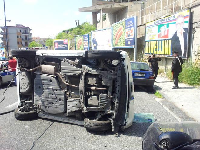 Tragico incidente a via Caravaggio, morto pregiudicato titolare di un centro scommesse