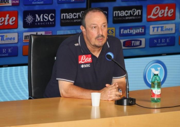 """Benitez: """"Migliorare Castelvolturno per vincere"""""""