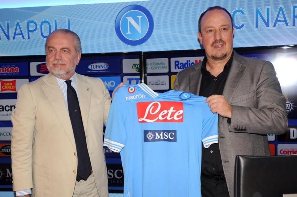 De Laurentiis pronto a blindare Benitez fino al 2017