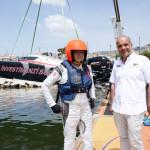 """Francesco Corbello, organizzatore Mondiale di Off Shore: """"Voglio ringraziare i napoletani!"""""""