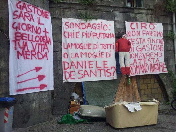 Minacce di morte contro Daniele De Santis: al rione Sanità compare un manichino impiccato