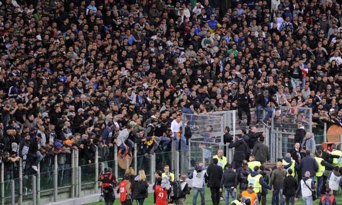 Napoli-Tosel: pesanti sanzioni per i fatti dell'Olimpico