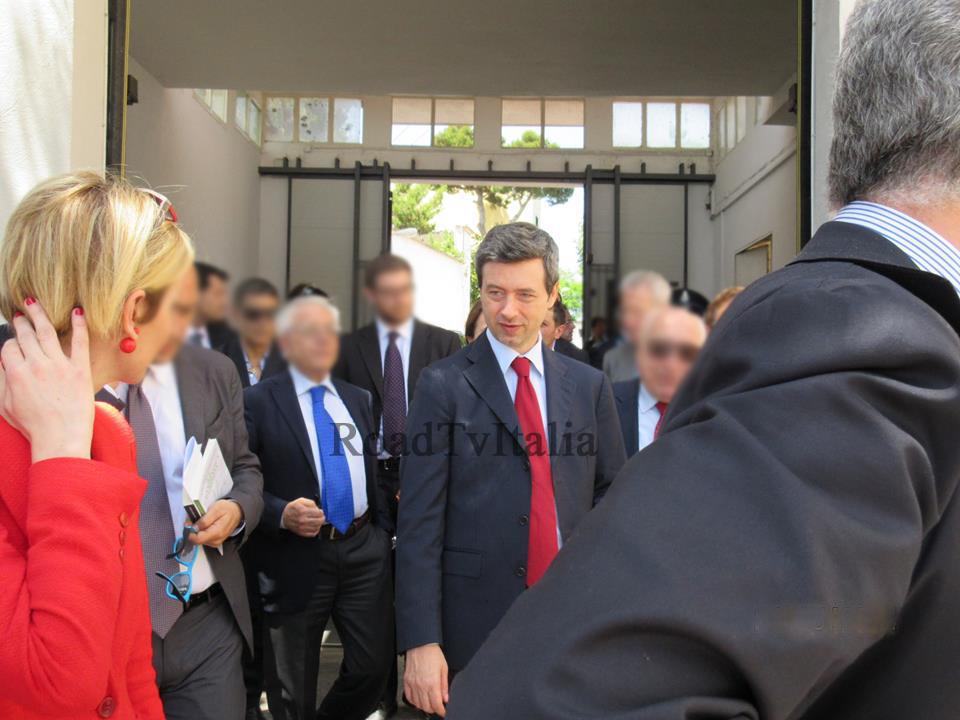 Ministro Andrea Orlando: visita all'Istituto Penale Minorile di Nisida
