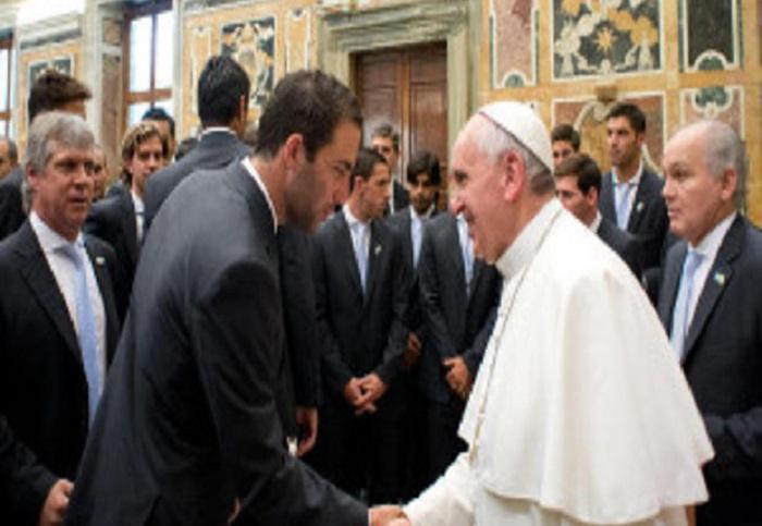 Napoli e Fiorentina incontrate da Papa Francesco