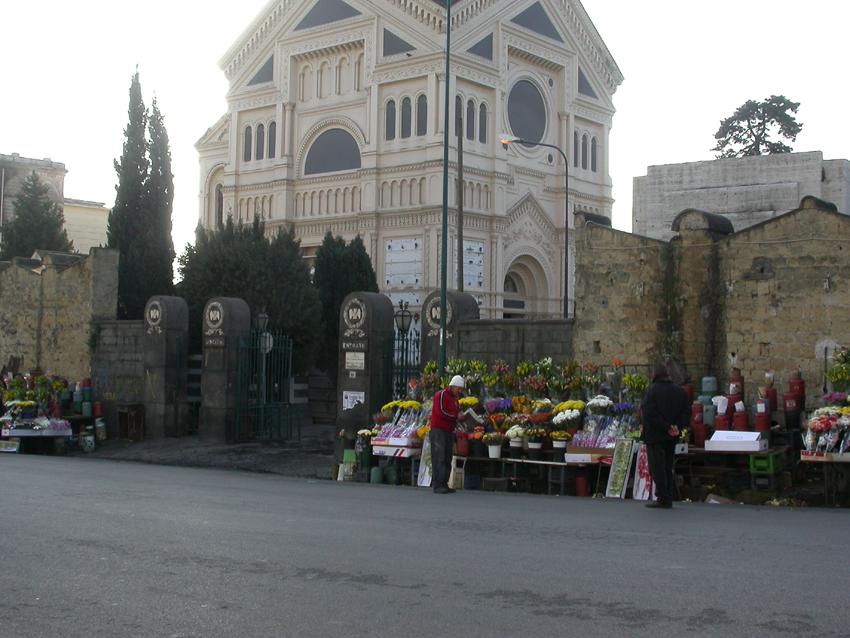 Cappella clan Vastarella al cimitero di Poggioreale