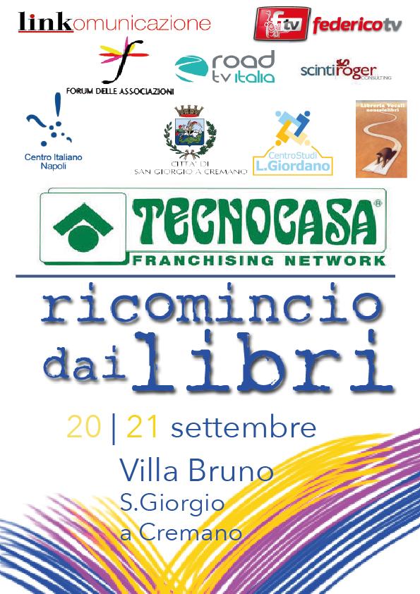 Ricomincio dai Libri: la prima Fiera del Libro napoletana arriva a San Giorgio a Cremano