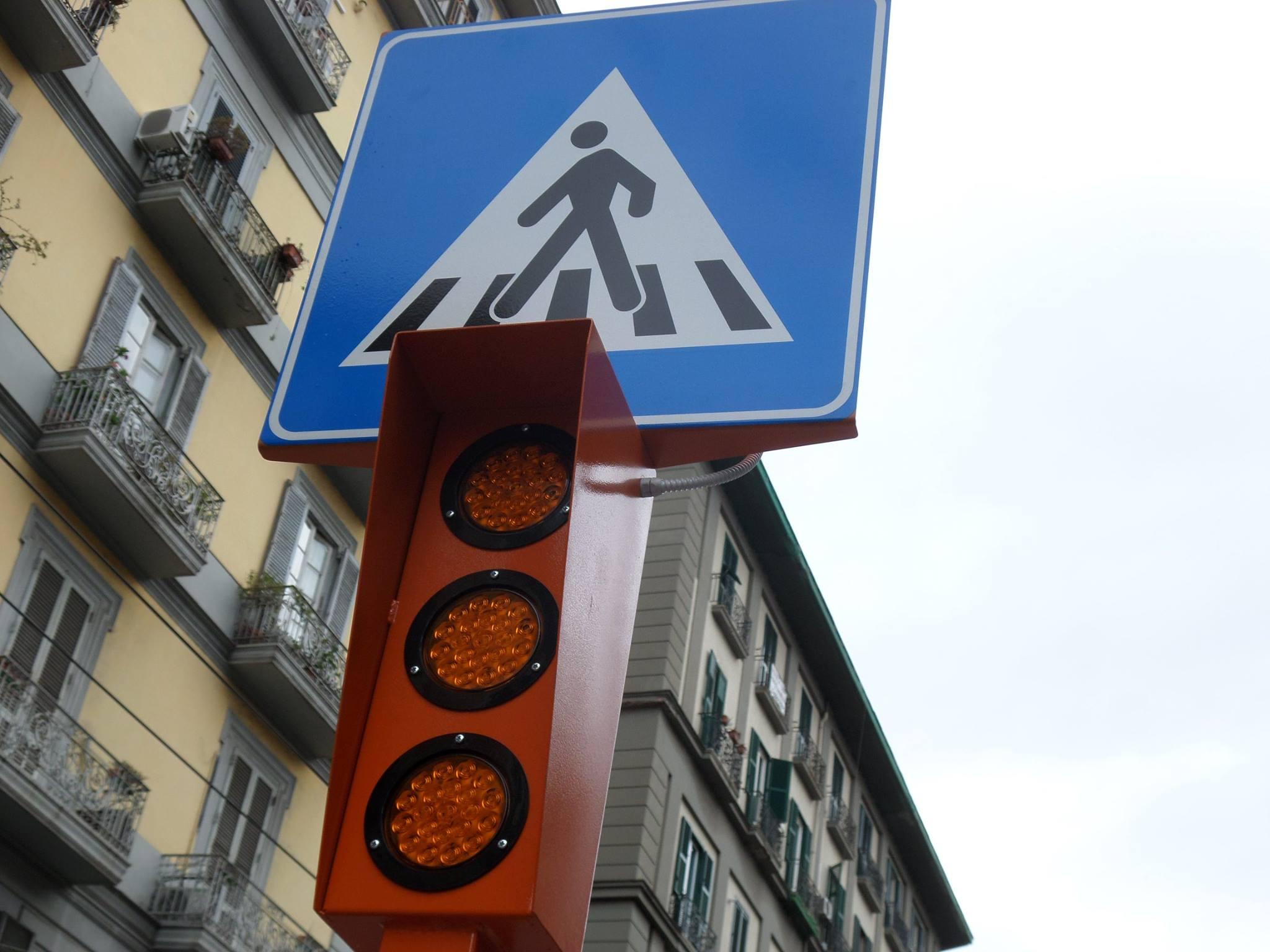 Pedone Sicuro: arriva a Napoli un prototipo per la sicurezza dei pedoni (FOTO)