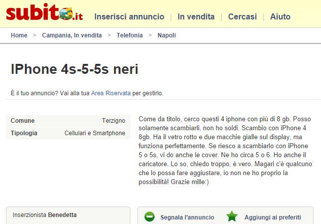 Subito.it, genio