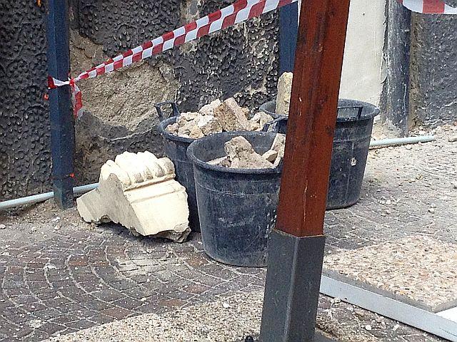 Vomero. Sventato il crollo di calcinacci in via Bernini (VIDEO)
