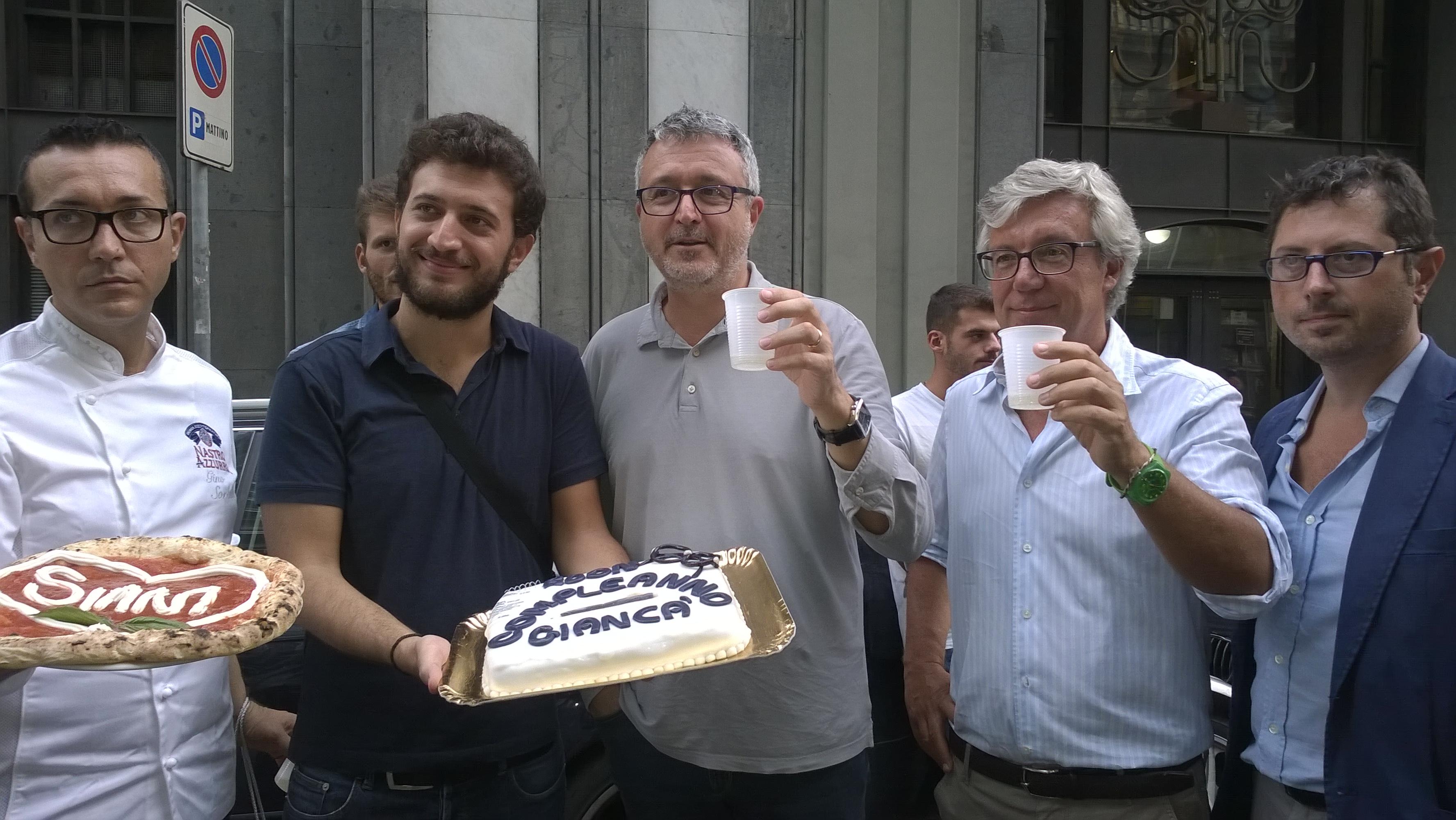 Buon compleanno Giancà! Gli studenti contro la camorra festeggiano il compleanno di Giancarlo Siani