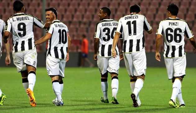 Alcott nuovo sponsor napoletano dell'Udinese. Colella: speriamo di festeggiare contro il Napoli