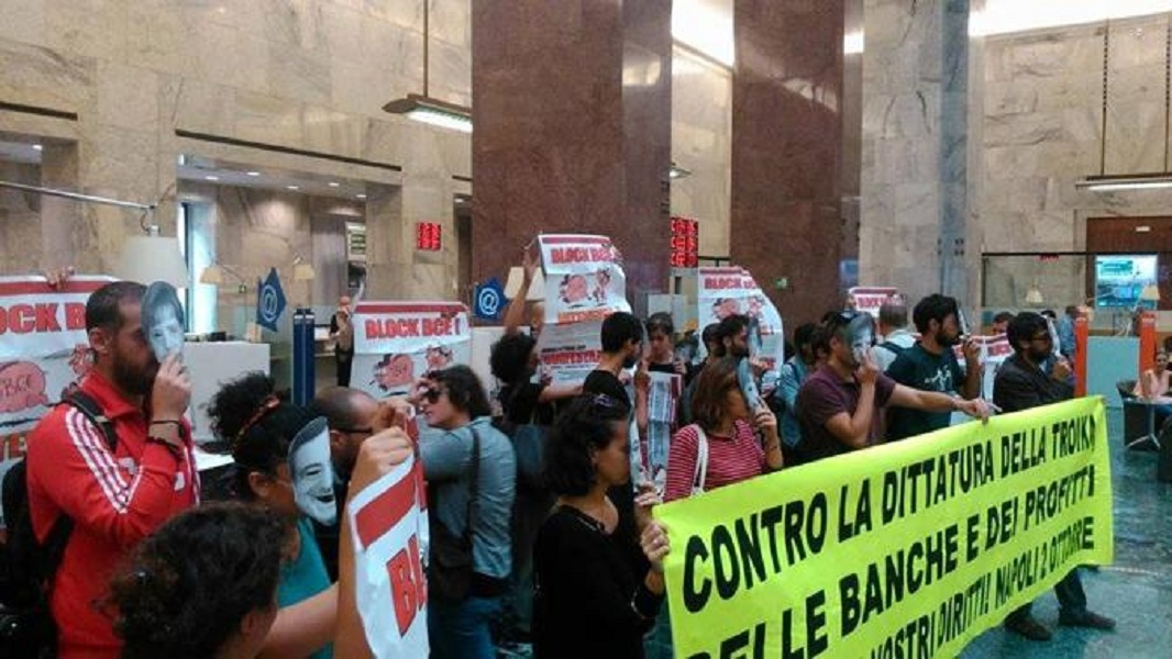 Block BCE, cresce l'allerta in città per la mobilitazione prevista il 2 ottobre