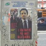 """Prima """"assassino"""", ora """"camorrista"""". Nuovi manifesti in città contro il Governatore Stefano Caldoro"""