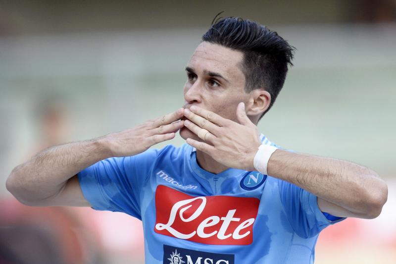 Napoli batte Sassuolo, Callejon riporta gli azzurri alla vittoria