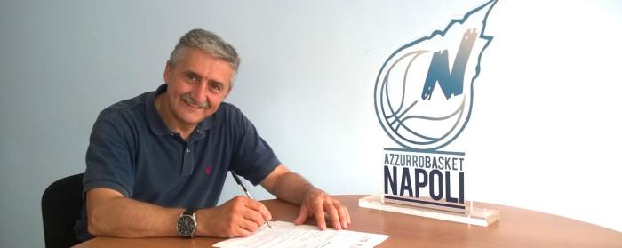 """Calvani, coach Givova Napoli: """"Obiettivo minimo Playoff e Coppa Italia. Ottimo mercato"""""""