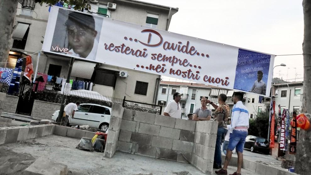 Davide Bifolco, al Rione Traiano una cappella in sua memoria: ma senza permessi per costruirla