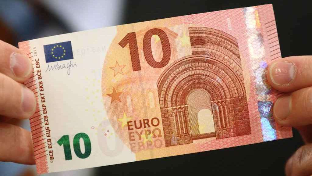 Dite addio alla vecchia 10 euro: da martedì una...nuova di zecca!